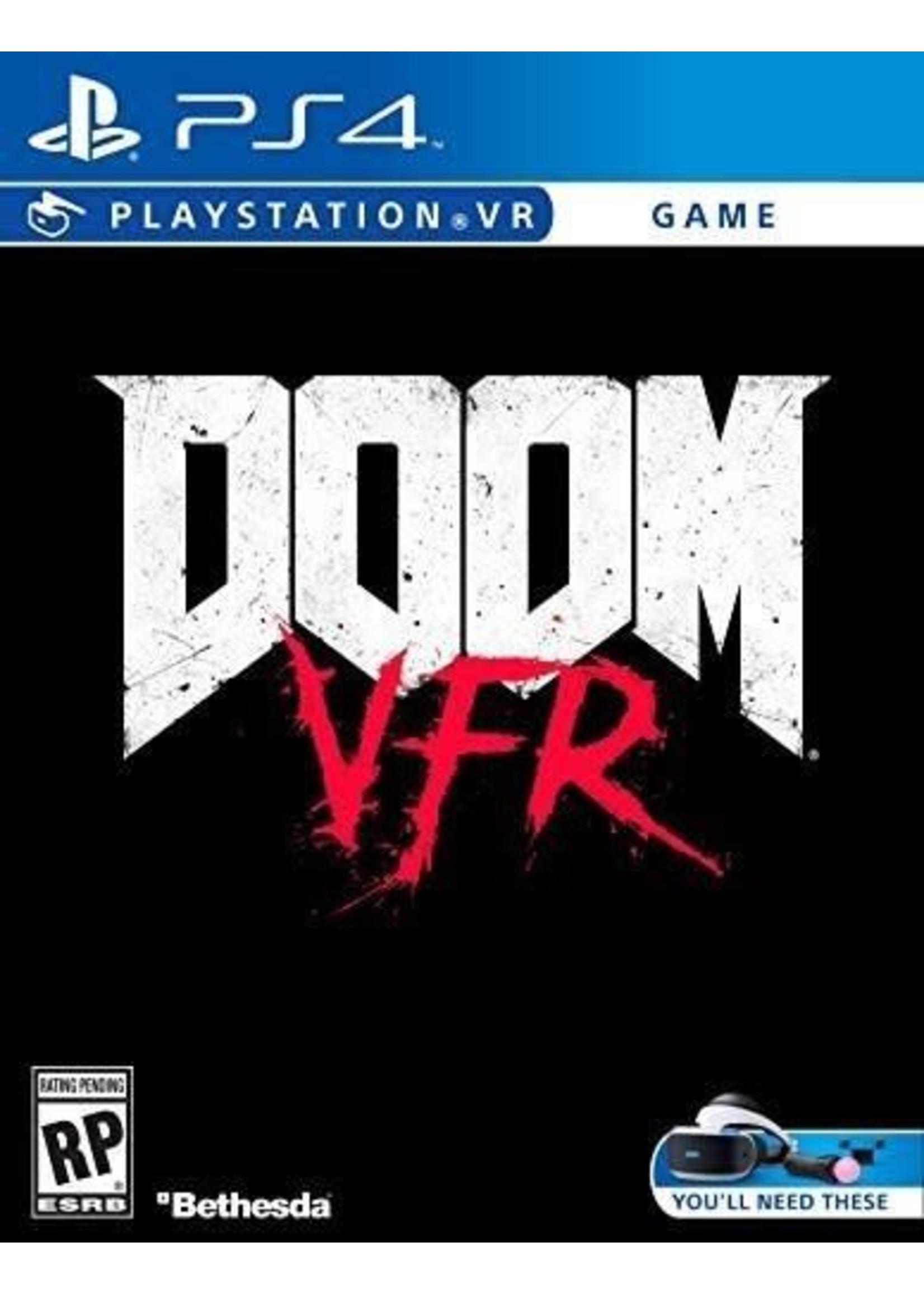 DOOM VFR VR - PS4 NEW