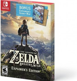 The Legend of Zelda: Breath of the Wild Explorer's Edition- SWITCH NEW