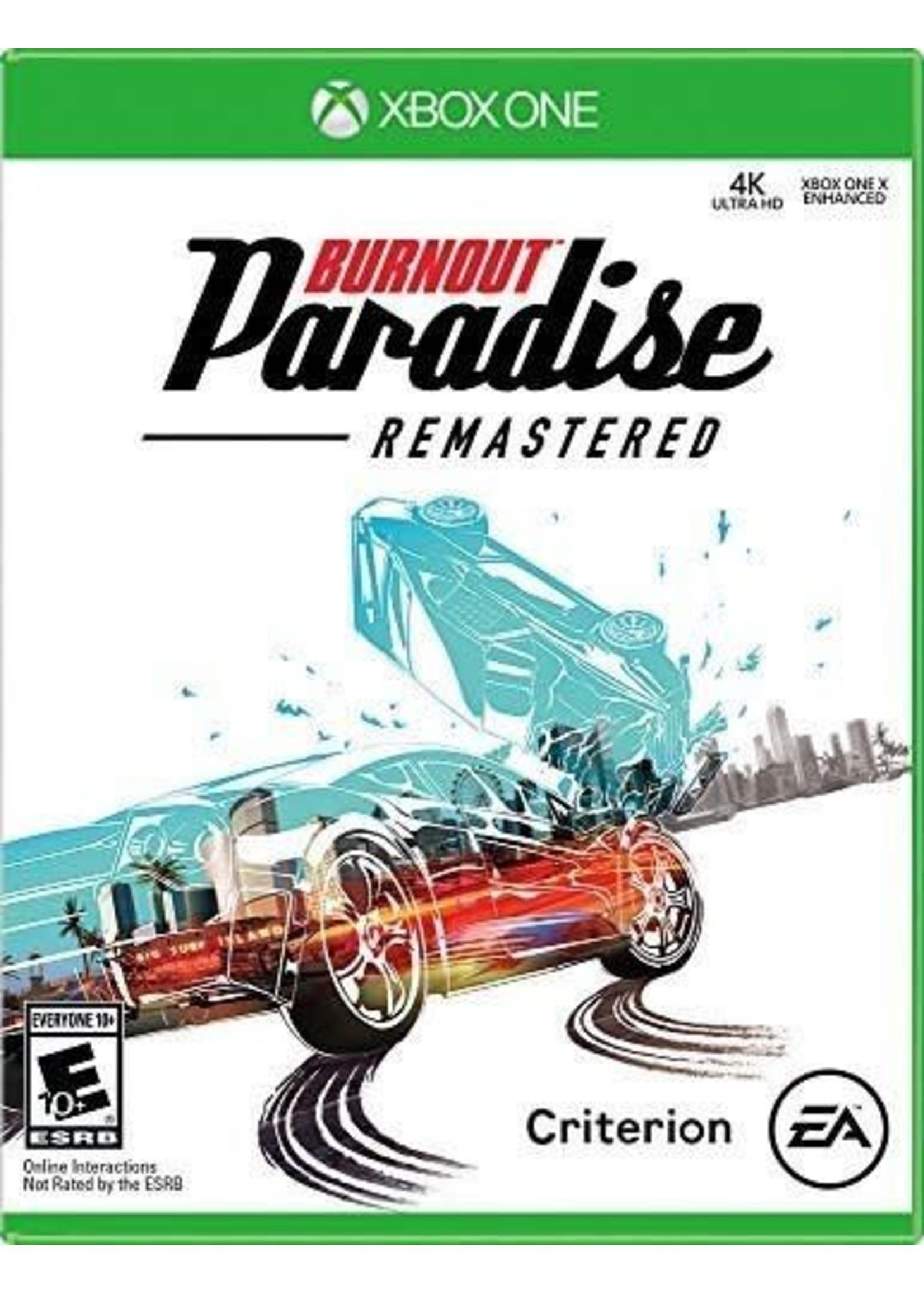 Burnout Paradise Remaster - XBOne NEW