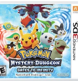 Pokemon Mystery Dungeon: Gates to Infinity - 3DS PrePlayed