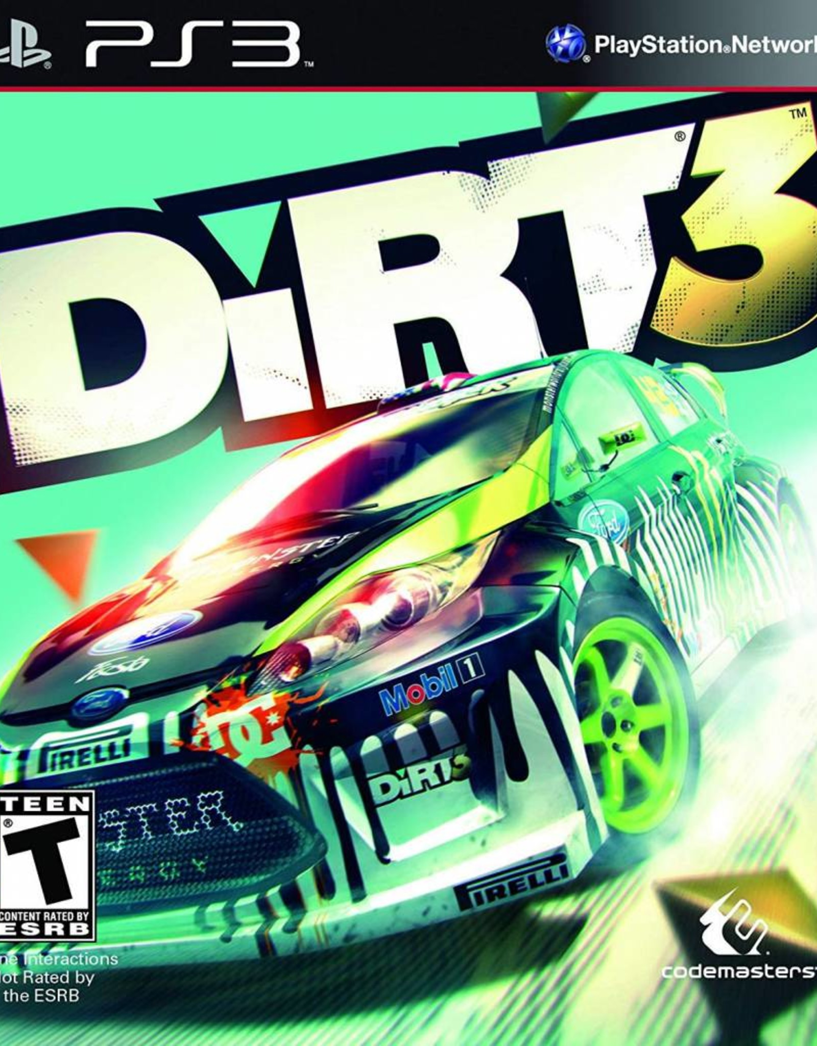 DiRT 3 - PS3 PrePlayed