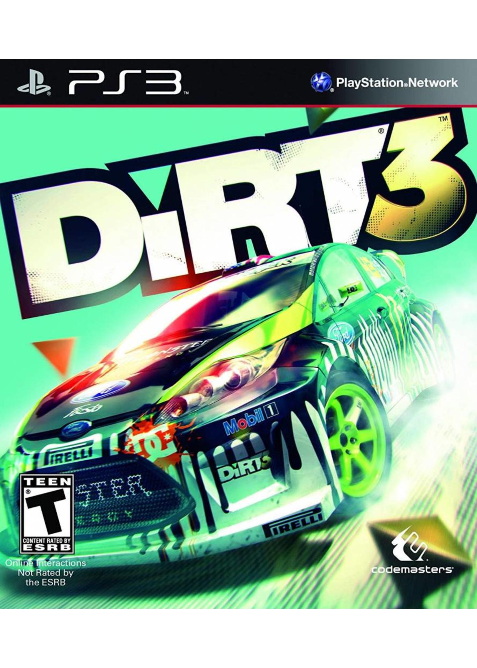 DiRT 3 - PS3 PrePlayed
