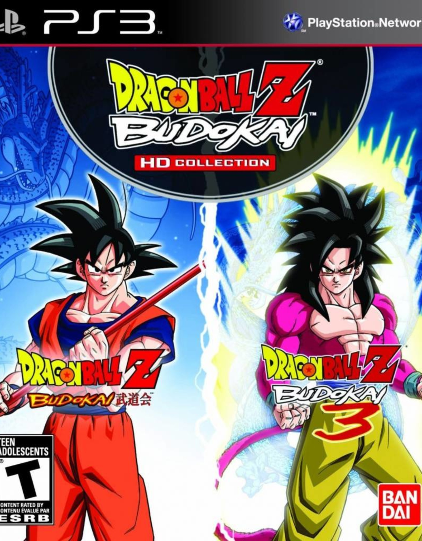 Dragon Ball Z: Budokai HD Collection - PS3 PrePlayed