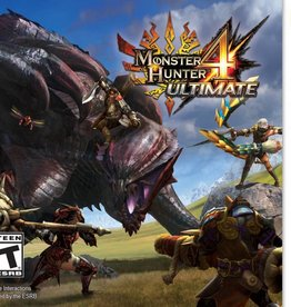 Monster Hunter 4 Ultimate - 3DS PrePlayed