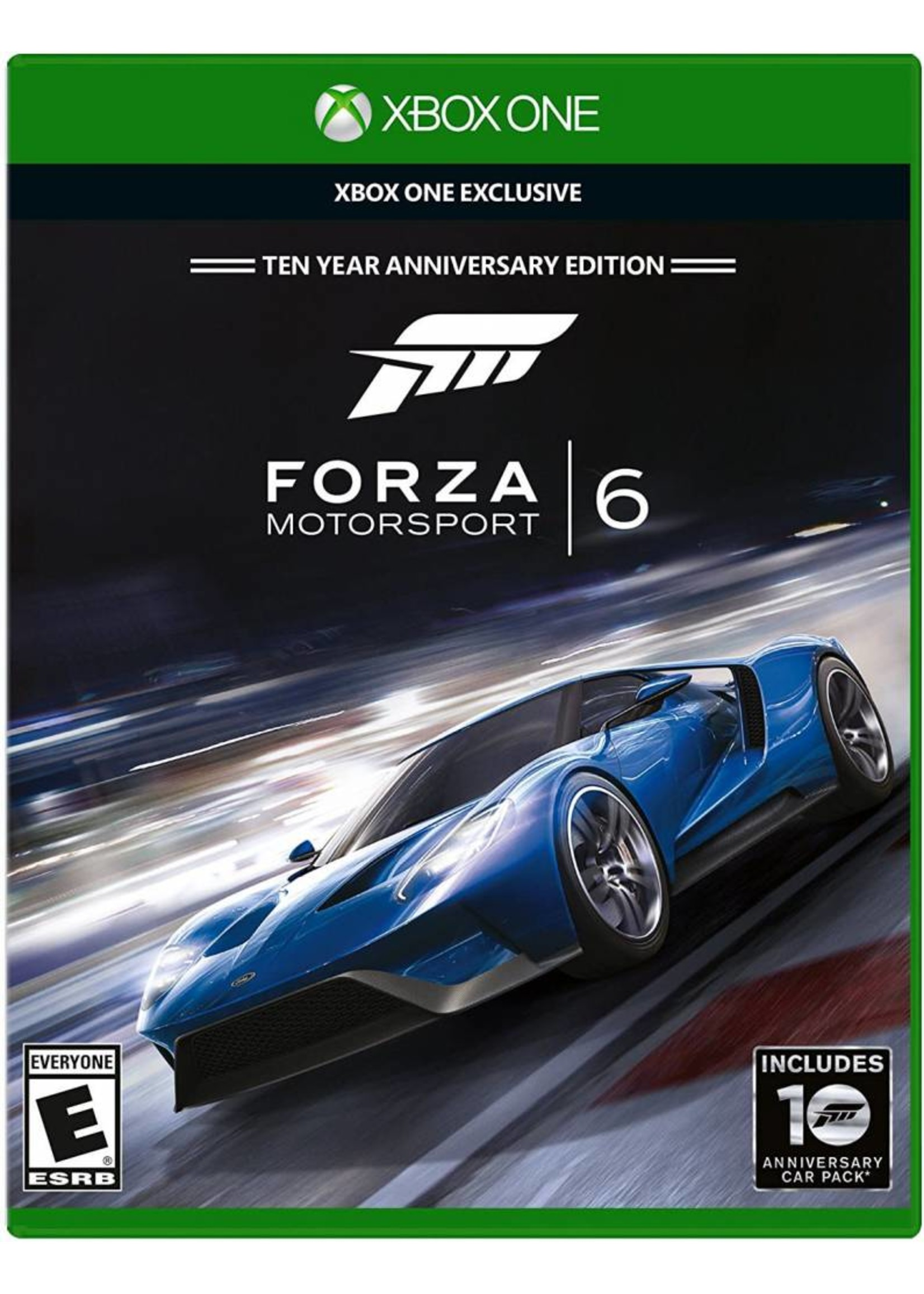 Forza Motorsport 6 - XBOne PrePlayed