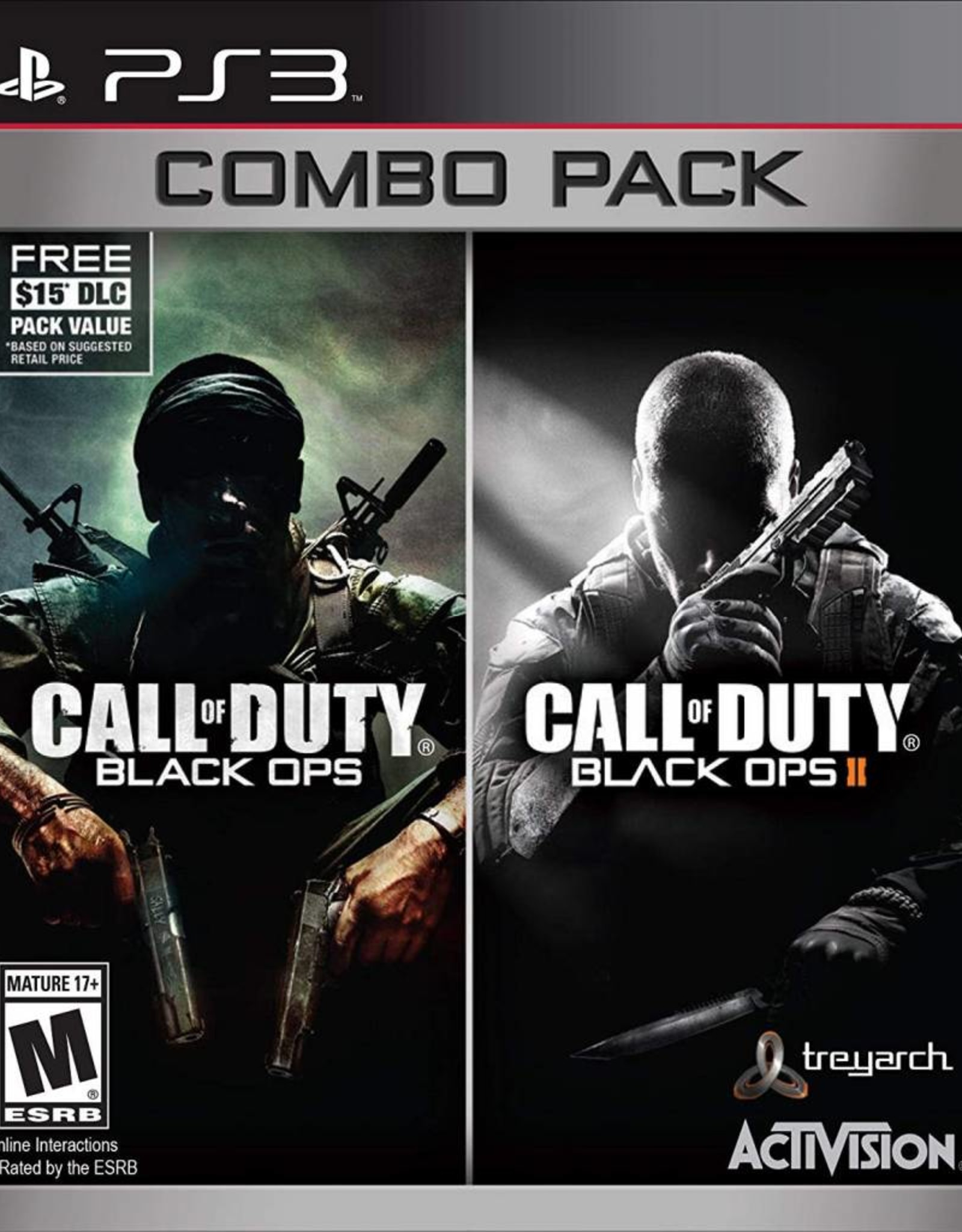 Call of Duty: Black Ops 1 + 2 Combo Pack  - PS3 PrePlayed