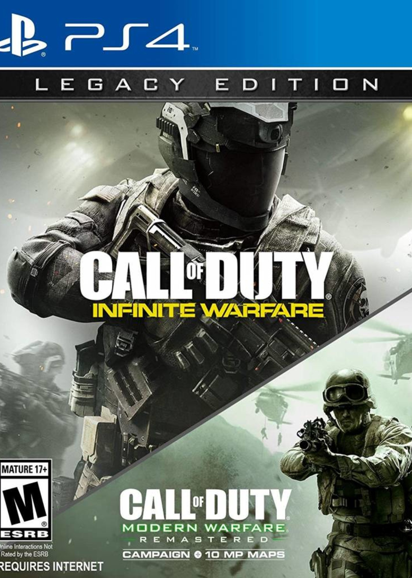 Call of Duty: Infinite Warfare Legacy Edition - PS4 PrePlayed