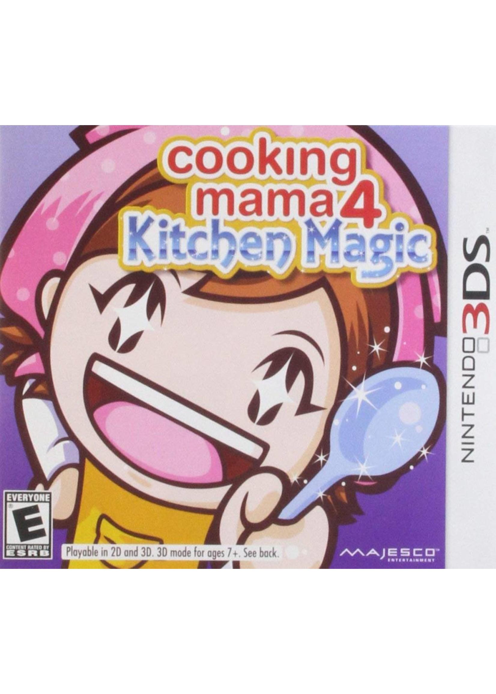Cooking Mama 4: Kitchen Magic - 3DS PrePlayed