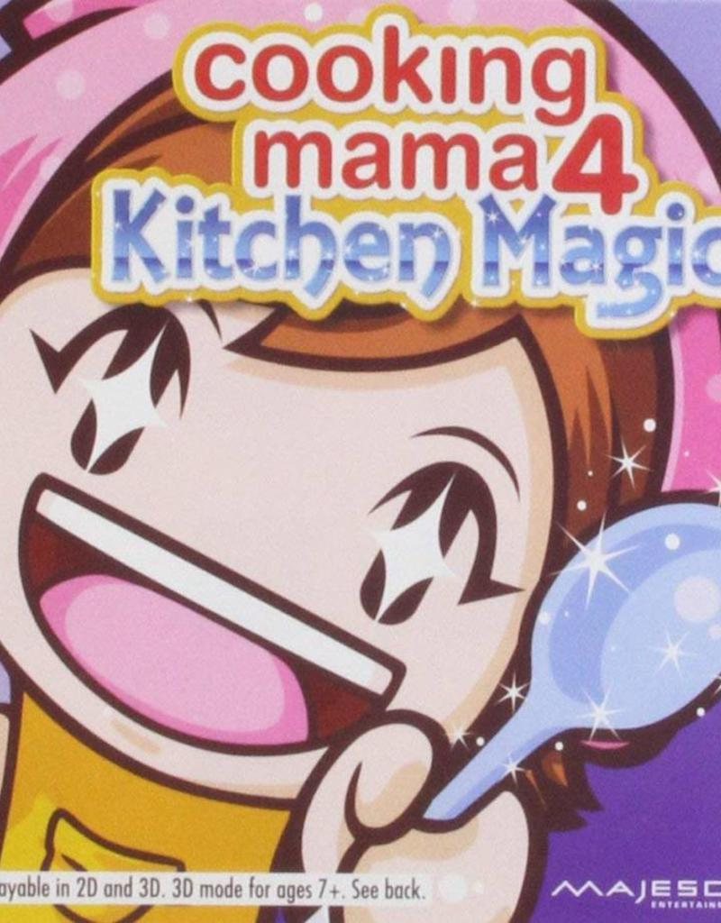 Cooking Mama 4 Kitchen Magic 3ds Preplayed
