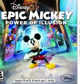 47c9ecc7d3d9d4 Epic Mickey Power of Illu - 3DS PrePlayed