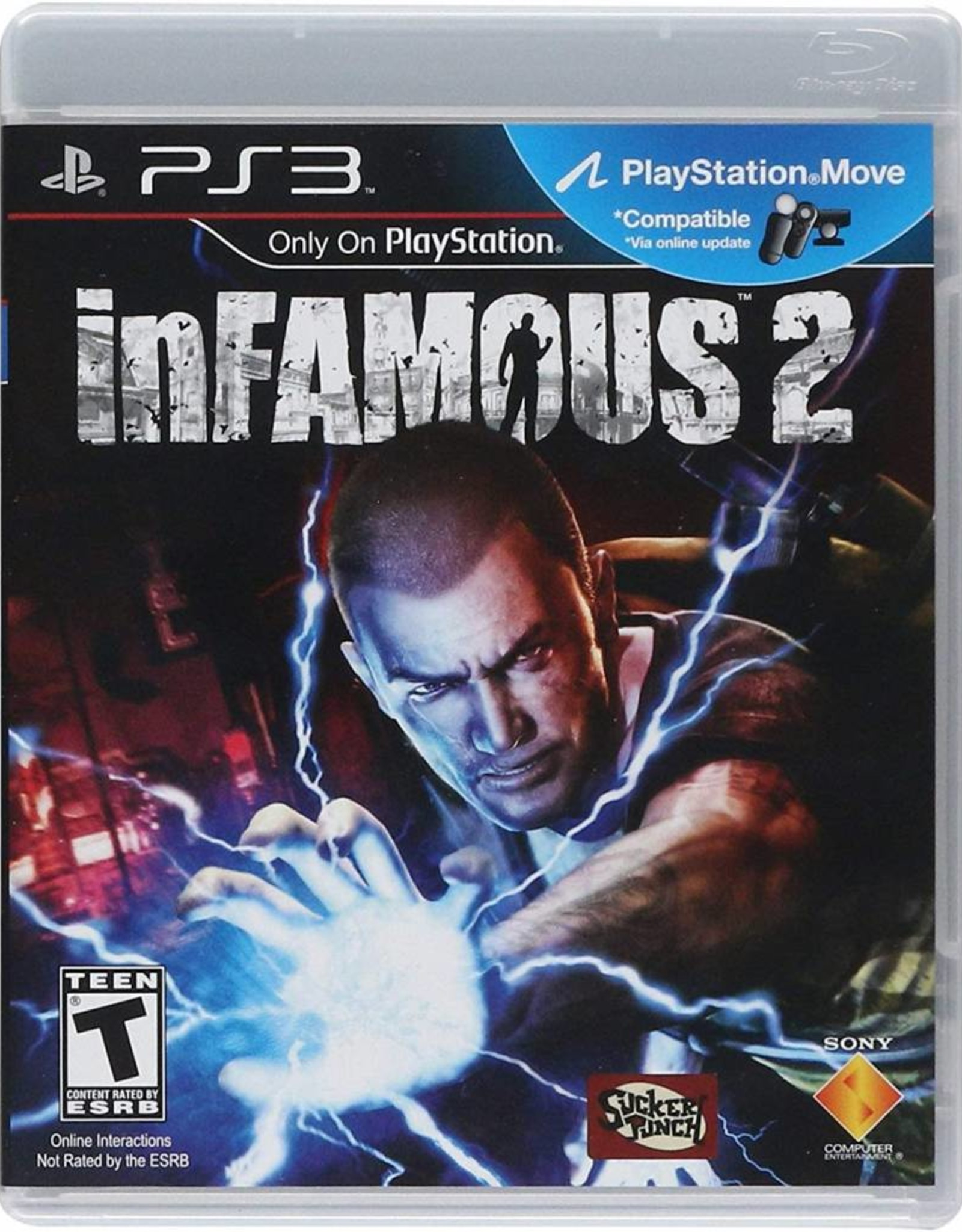 inFamous 2 (Sleeve Case) - PS3 PrePlayed