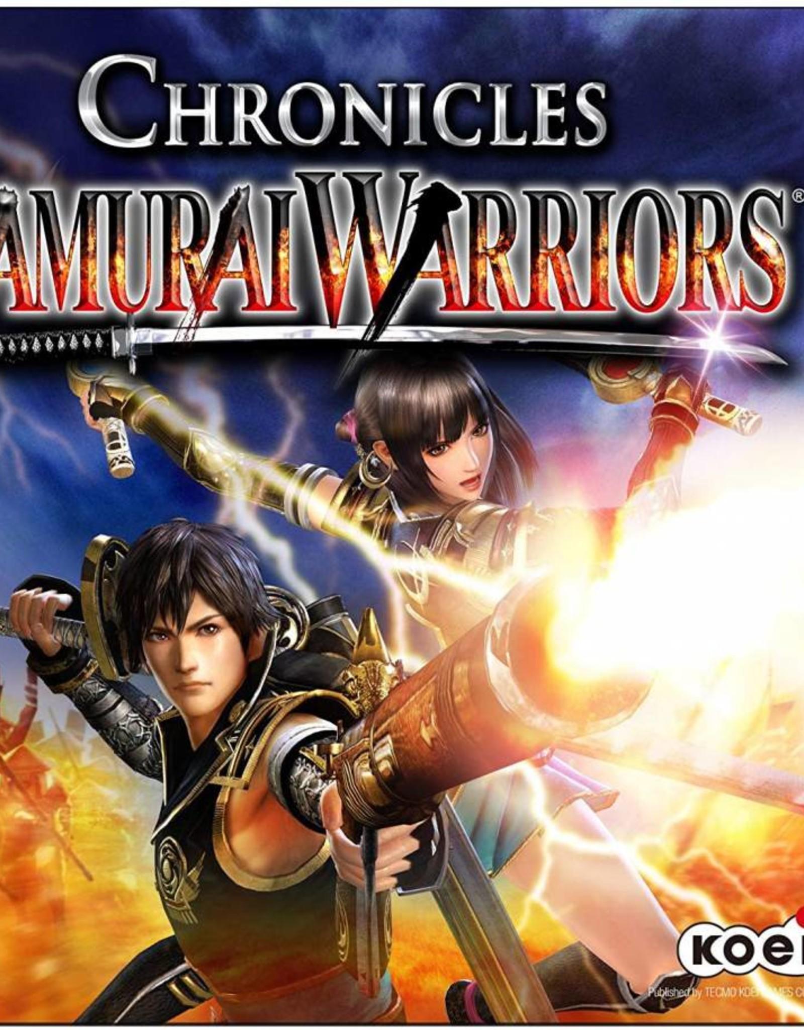 Chronicles Samurai Warrior - 3DS PrePlayed