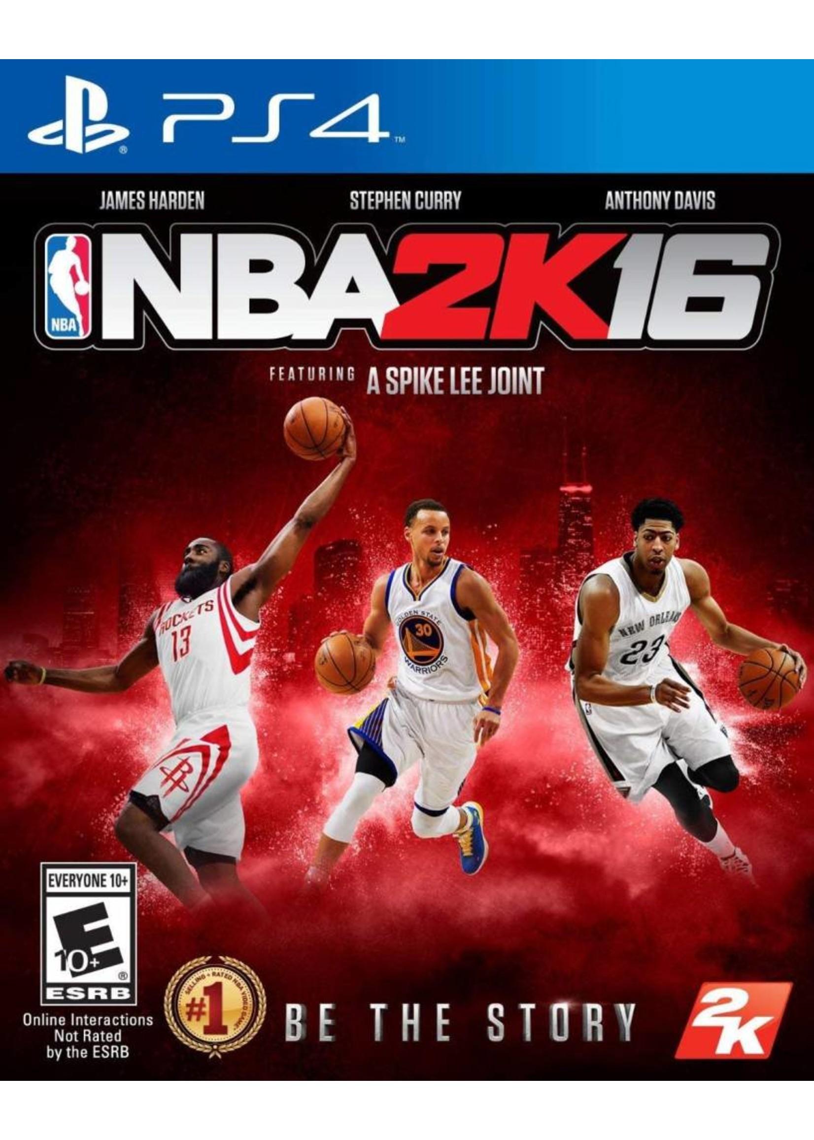 NBA 2K16 - PS4 PrePlayed