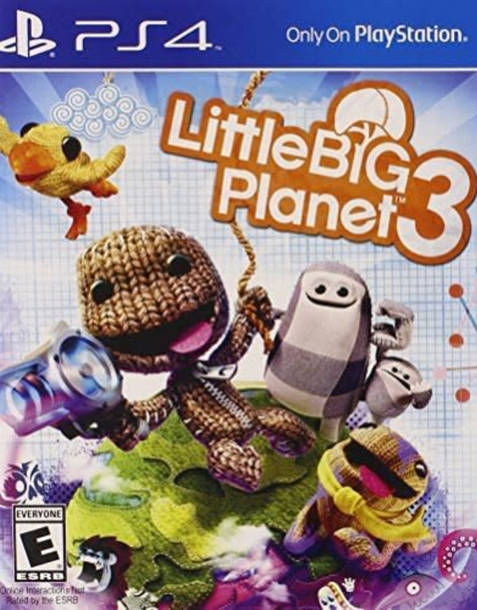 Little Big Planet 3 - PS4 PrePlayed