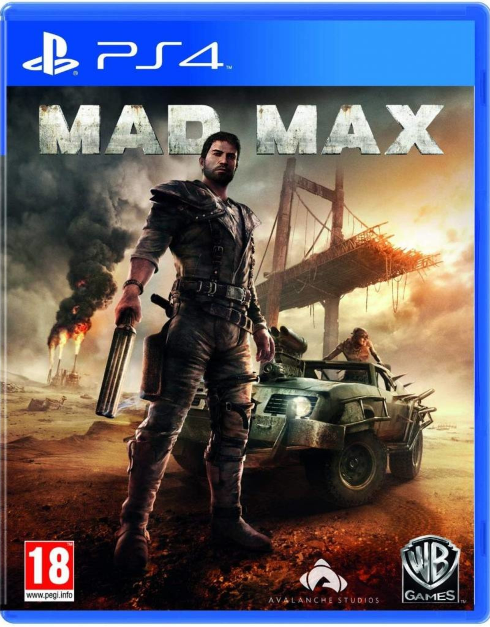 Mad Max - PS4 PrePlayed