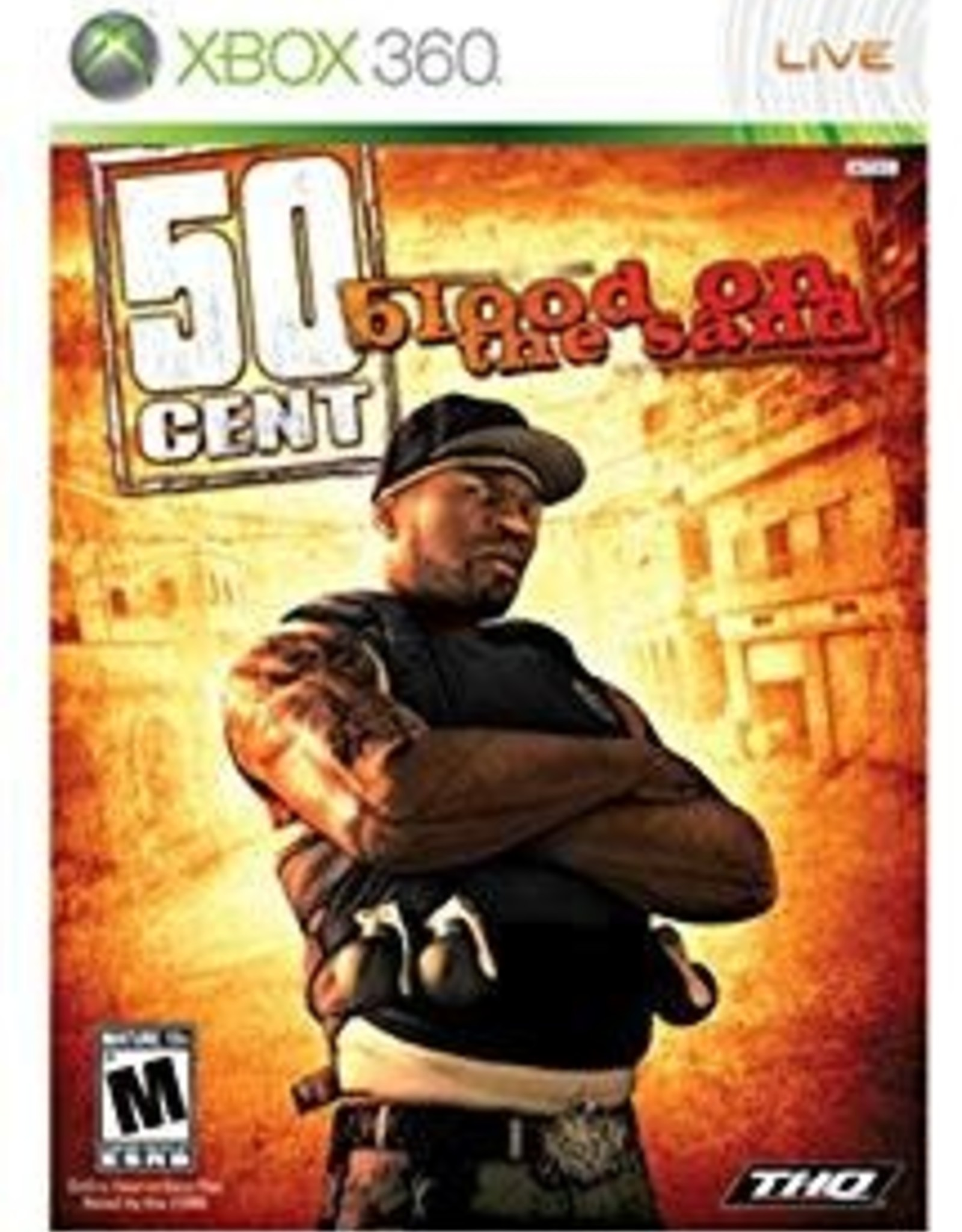 50 Cent Blood on the Sand - XB360 PrePlayed