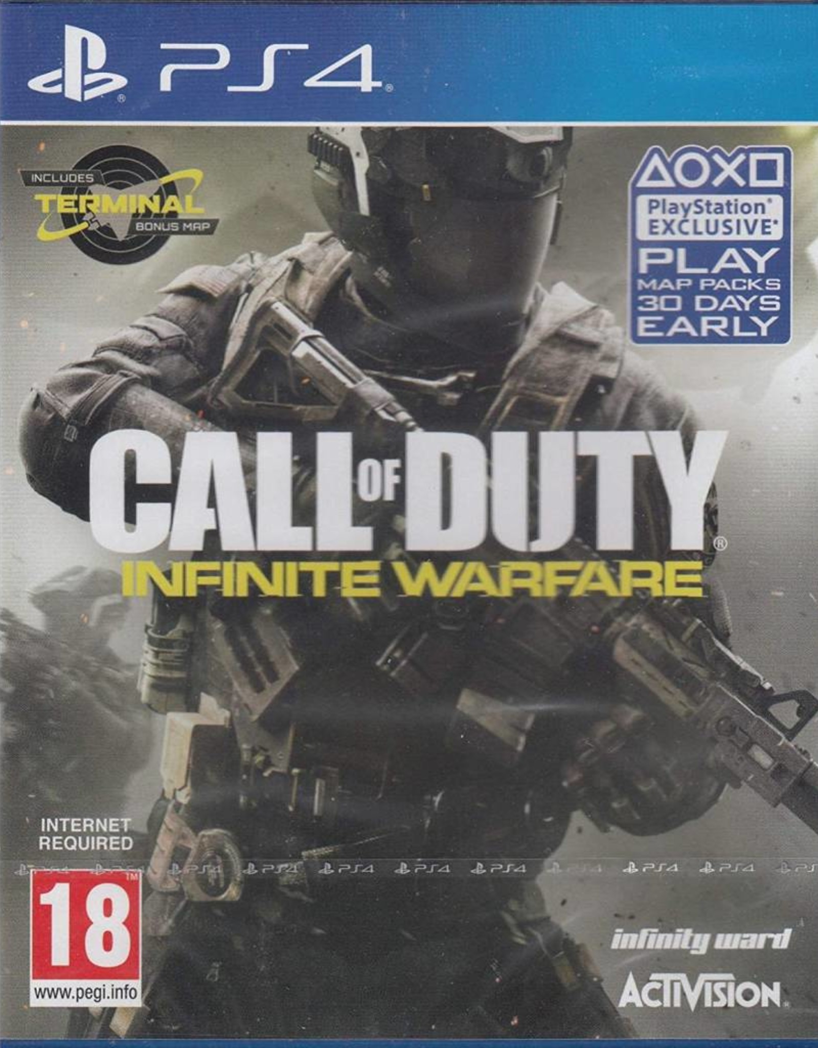 Call of Duty: Infinite Warfare - PS4 PrePlayed