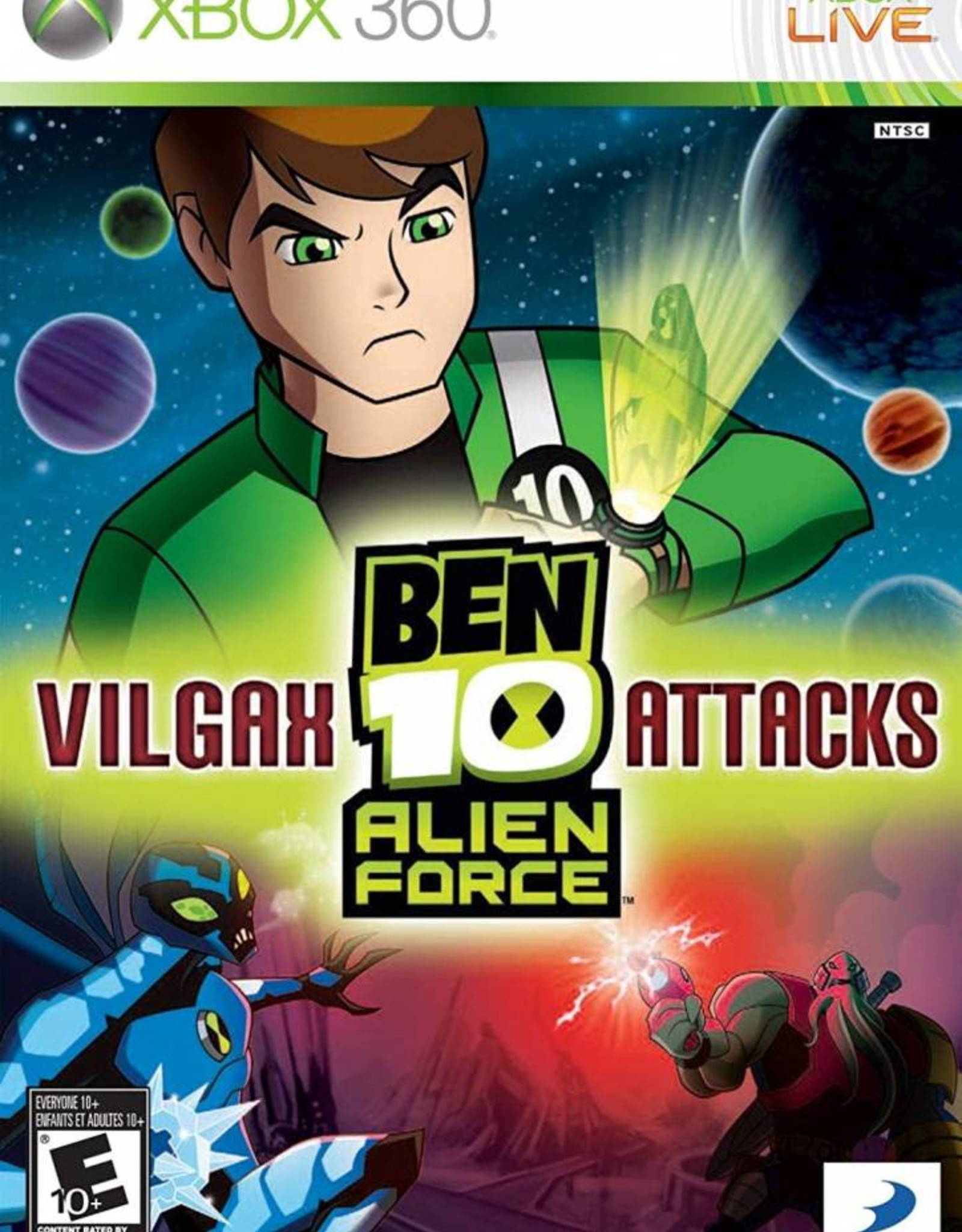 Ben 10: Vilgax Attacks - XB360 PrePlayed