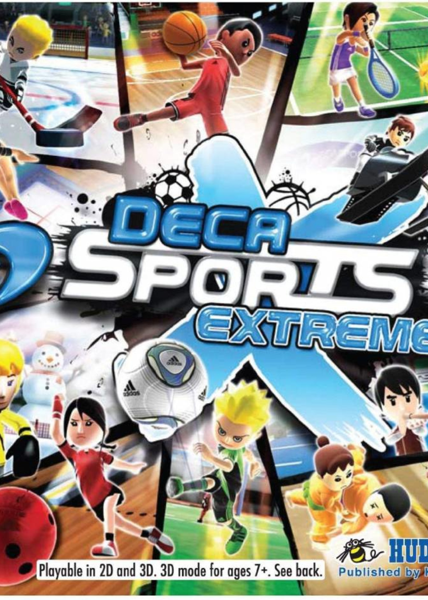 Deca Sports Extreme - 3DS PrePlayed