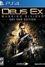 Deus Ex Mankind Divided - PS4 PrePlayed