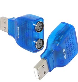 USB-2.0 to PS/2 Adapter
