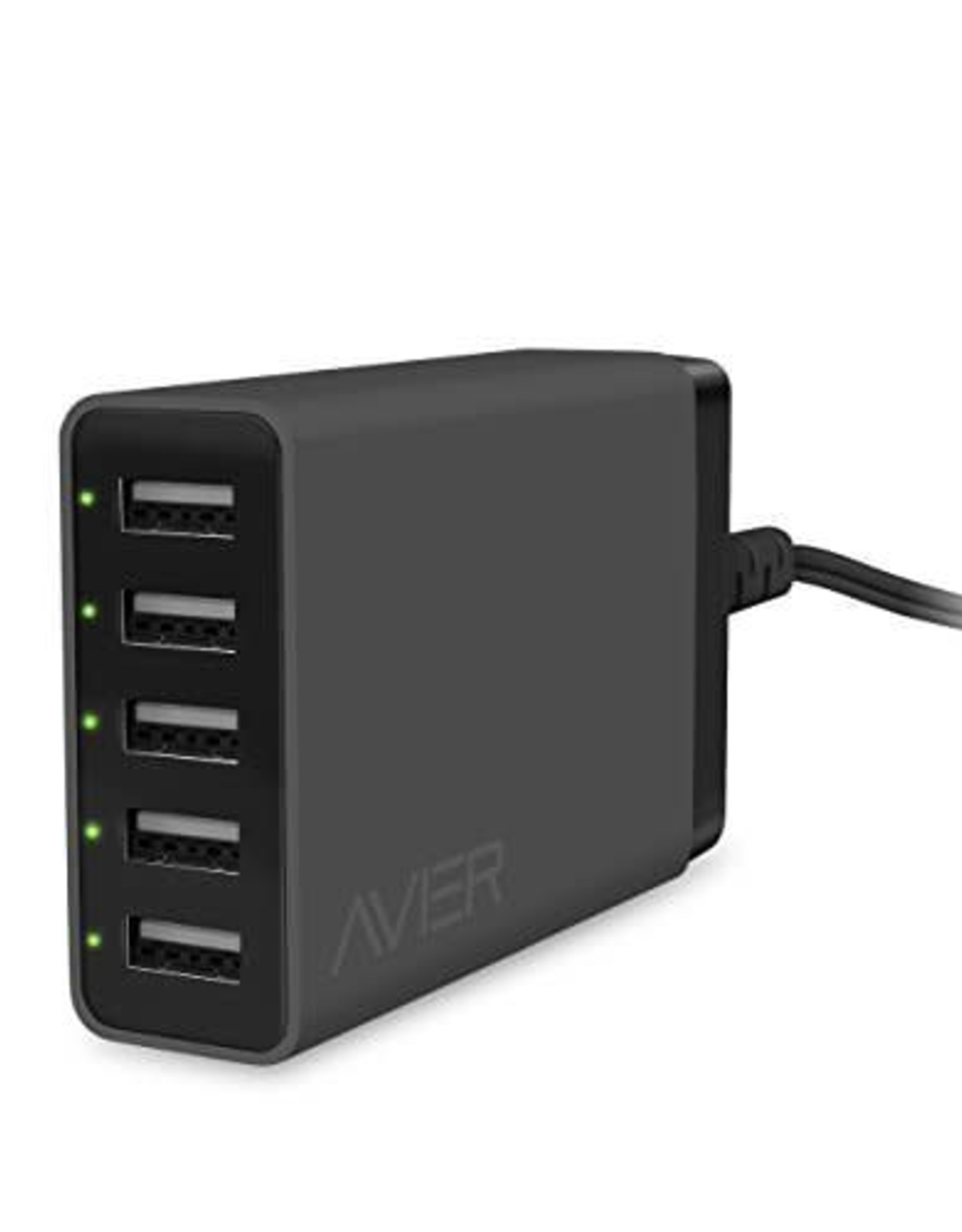 Avier 10.5A 5 Port USB Charger