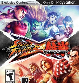 Street Fighter X Tekken - PSV PrePlayed