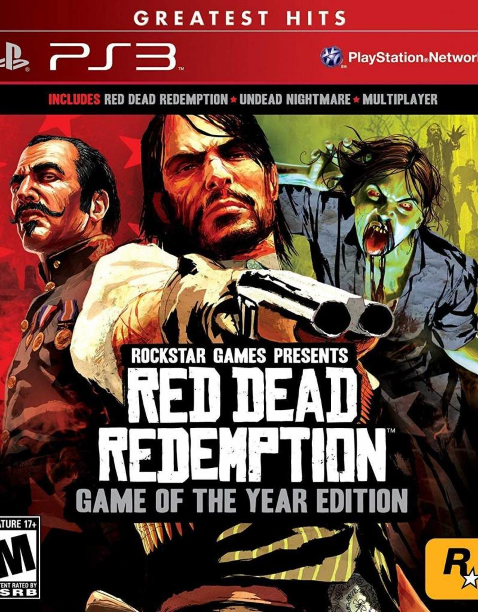 Red Dead Redemption Game of the Year Edition - PS3 PrePlayed