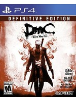 DMC Devil May Cry Definitive Edition - PS4 NEW