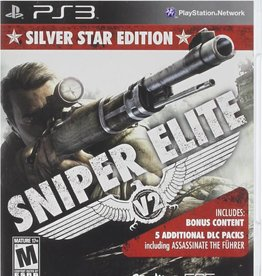 Sniper Elite V2 Silver Star Edition - PS3 NEW