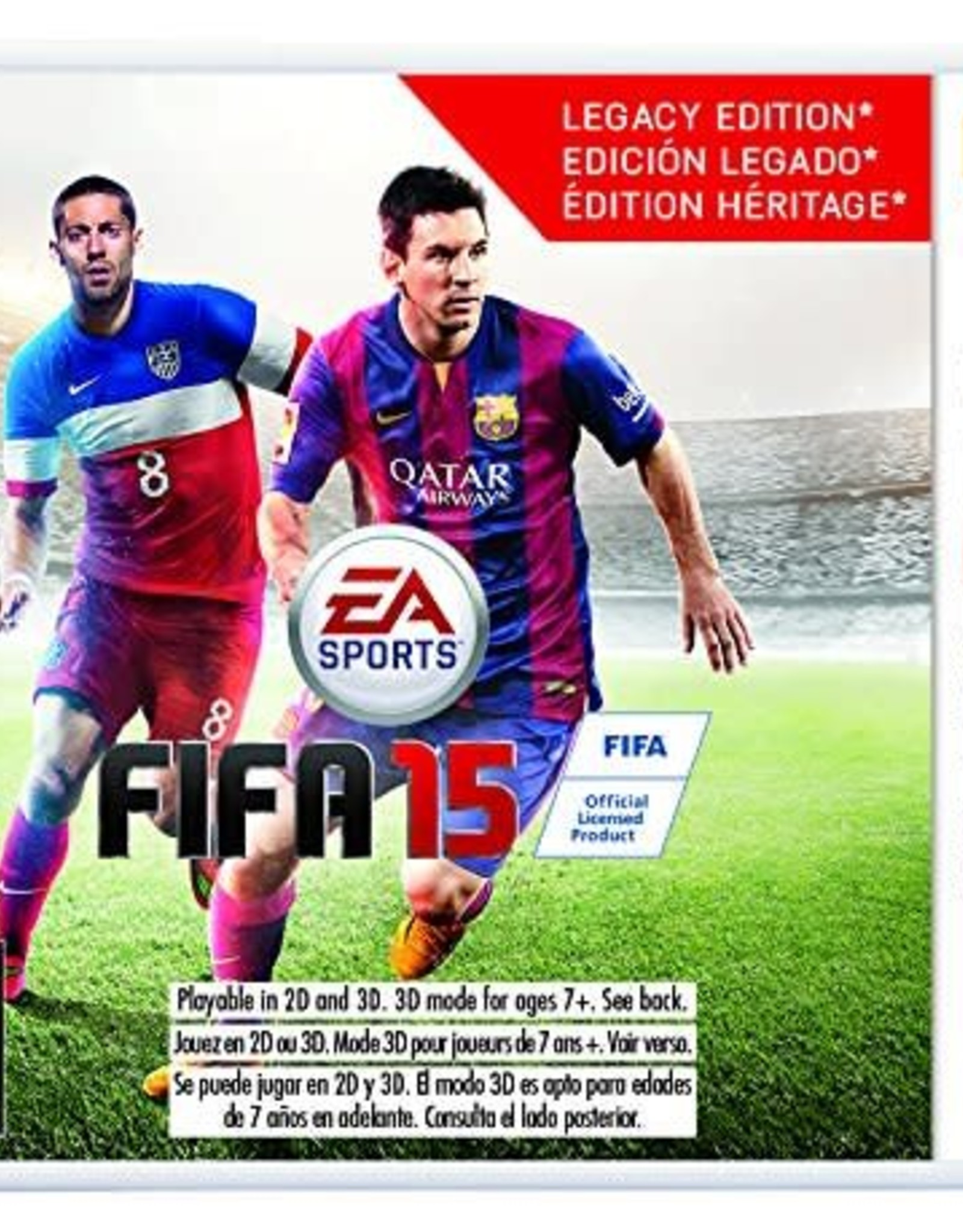 FIFA 15 Legacy Edition - 3DS PrePlayed