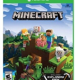 Minecraft Explorers Pack DLC - XB360 NEW