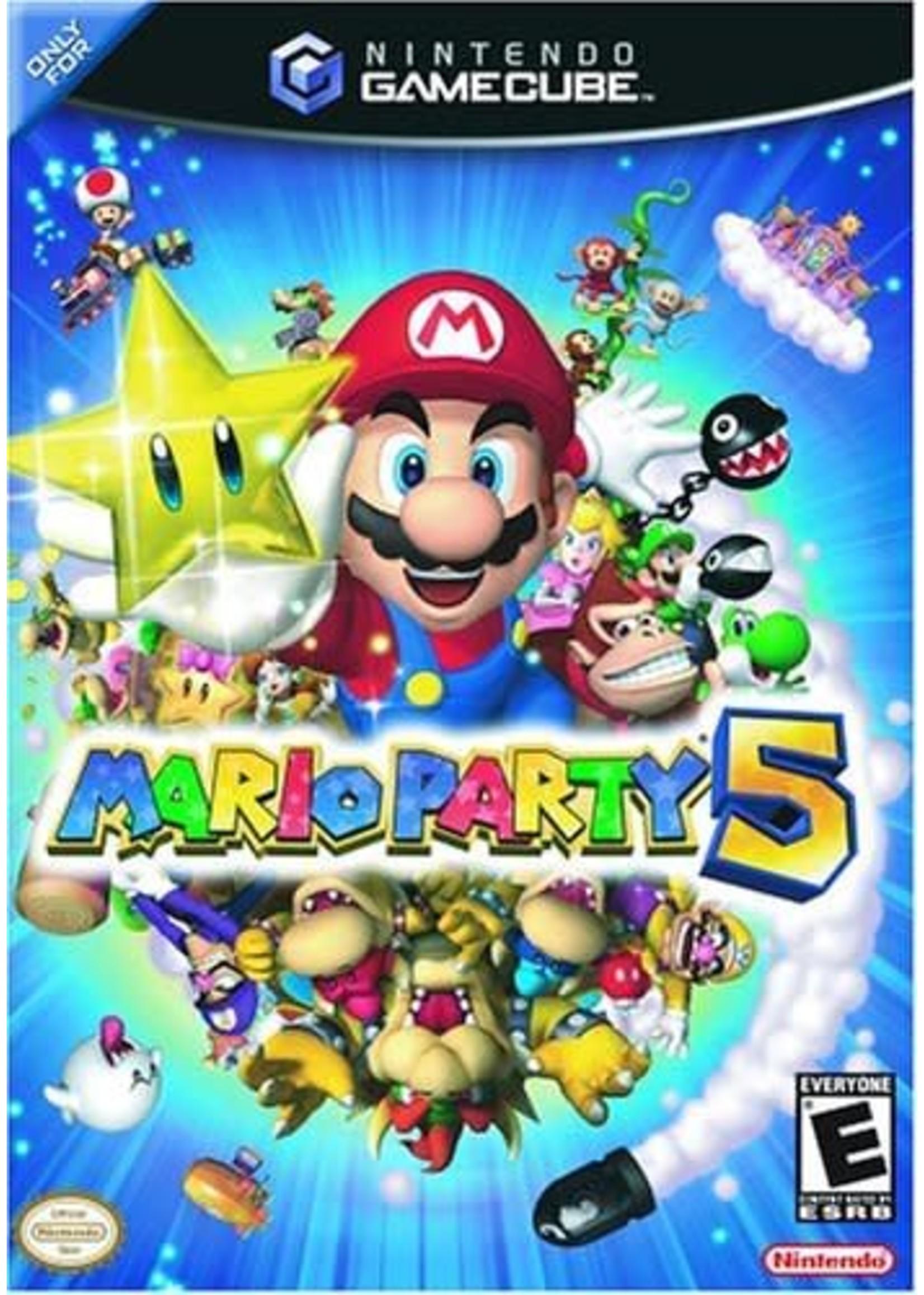 Mario Party 5 - NGC PrePlayed
