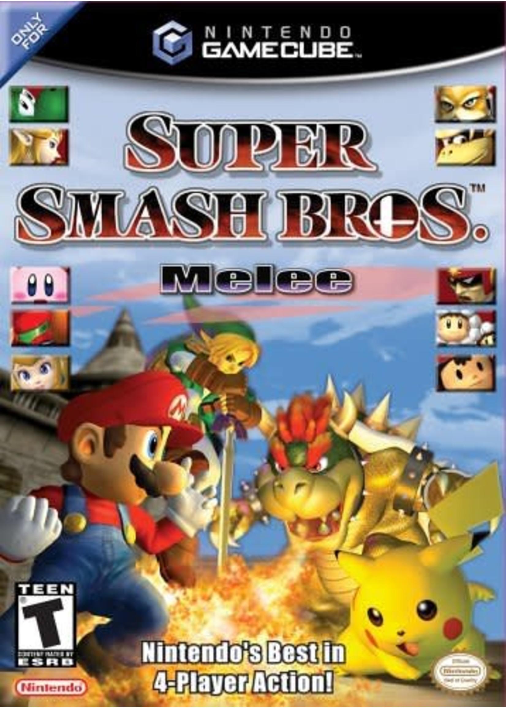 Super Smash Bros. MELEE - NGC PrePlayed