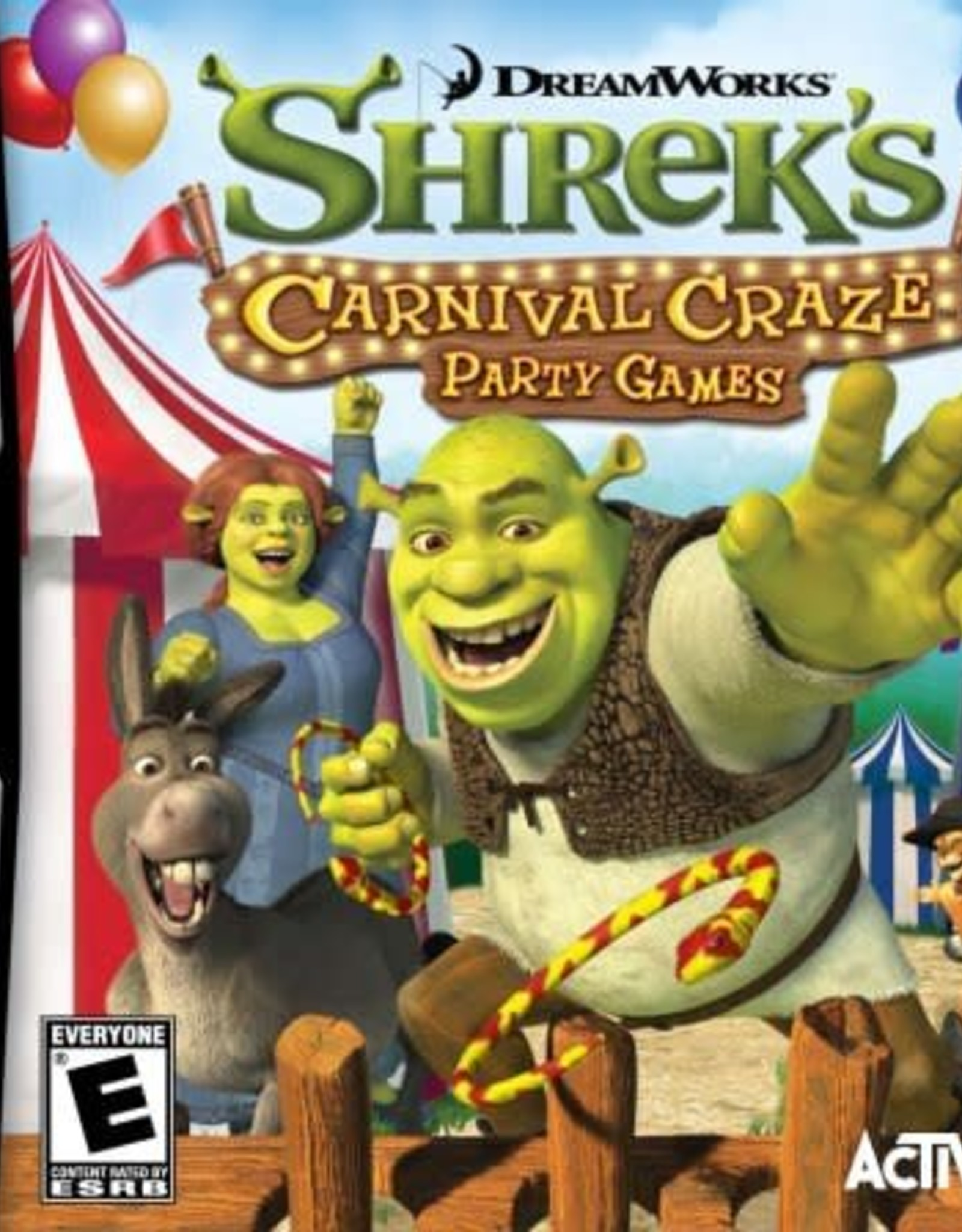 Shrek Carnival Craze Party - NDS NEW