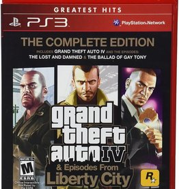 GTA Grand Theft Auto 4 The Complete Edition - PS3 NEW