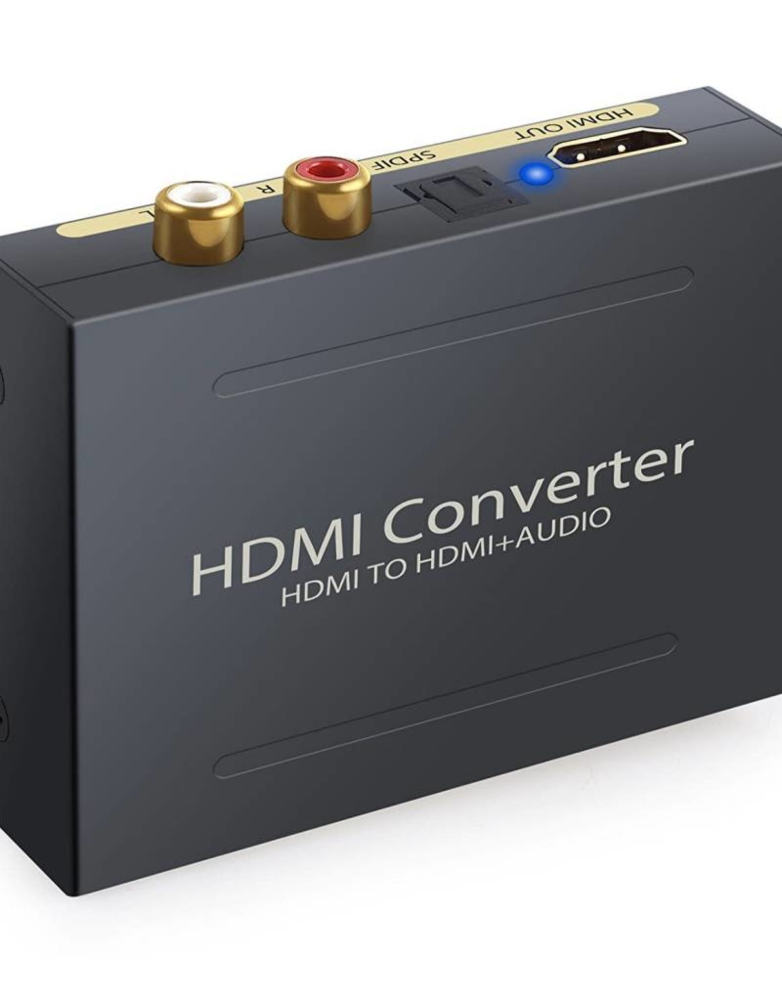HDMI to RCA L/R Stereo Audio Extractor Converter