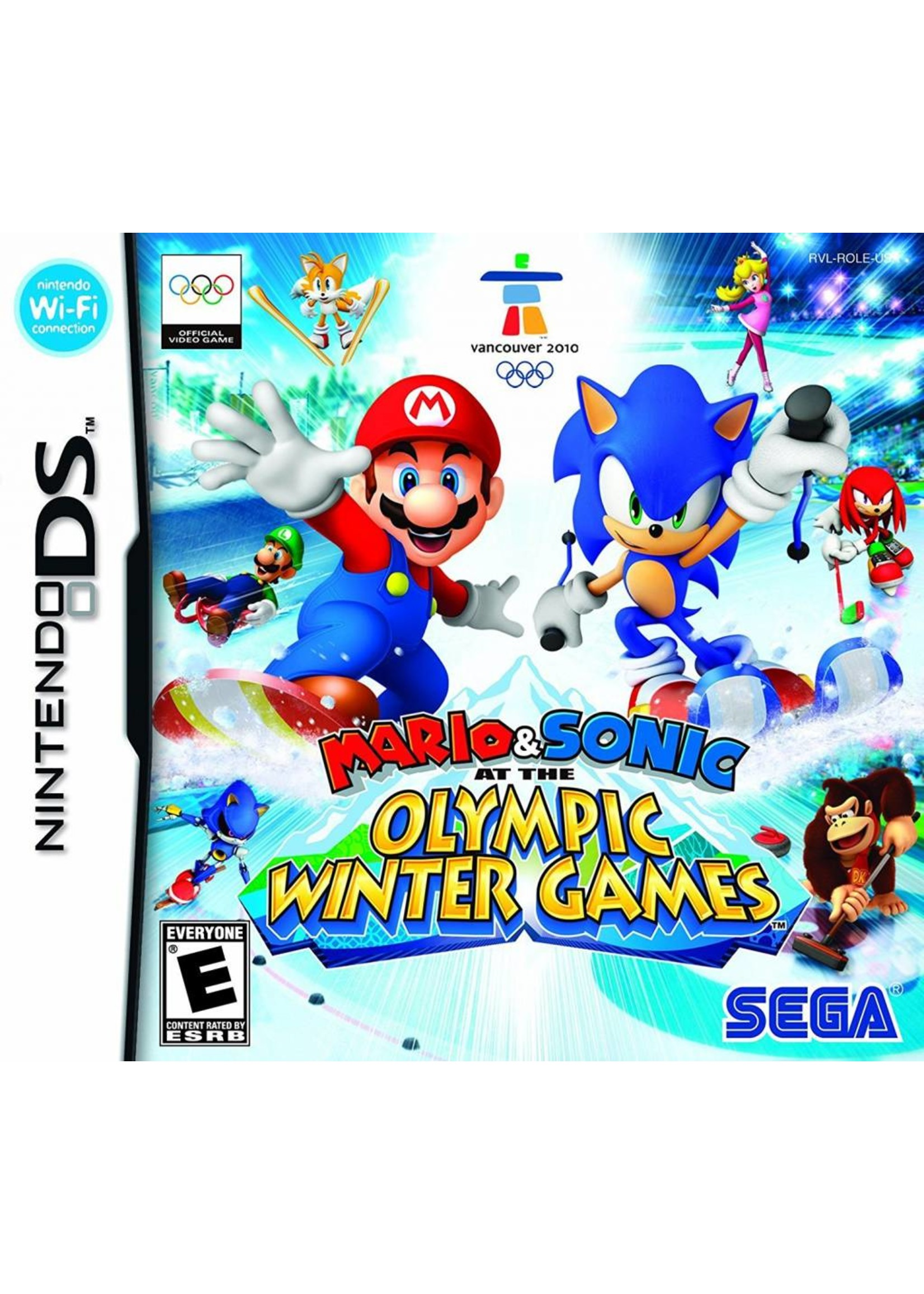 Mario & Sonic Olympic Winter Games - NDS PrePlayed