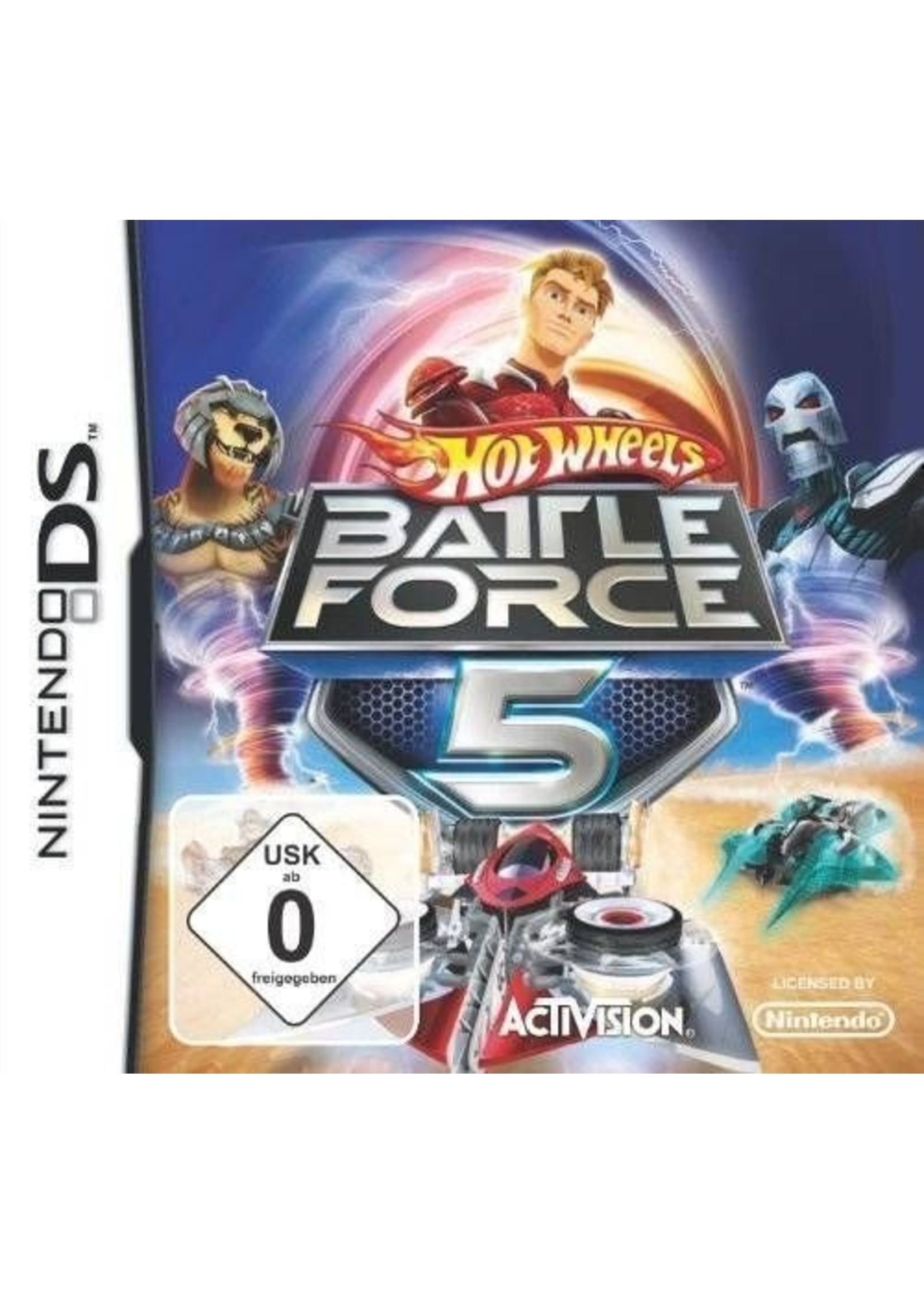 Hot Wheels: Battle Force 5 - NDS PrePlayed