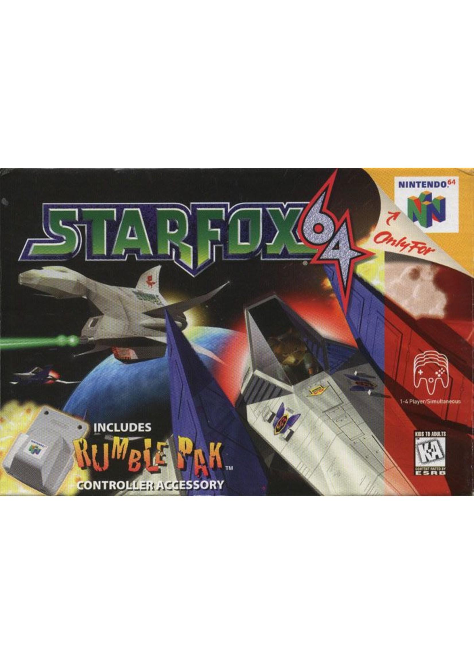 Starfox 64 - N64 PrePlayed