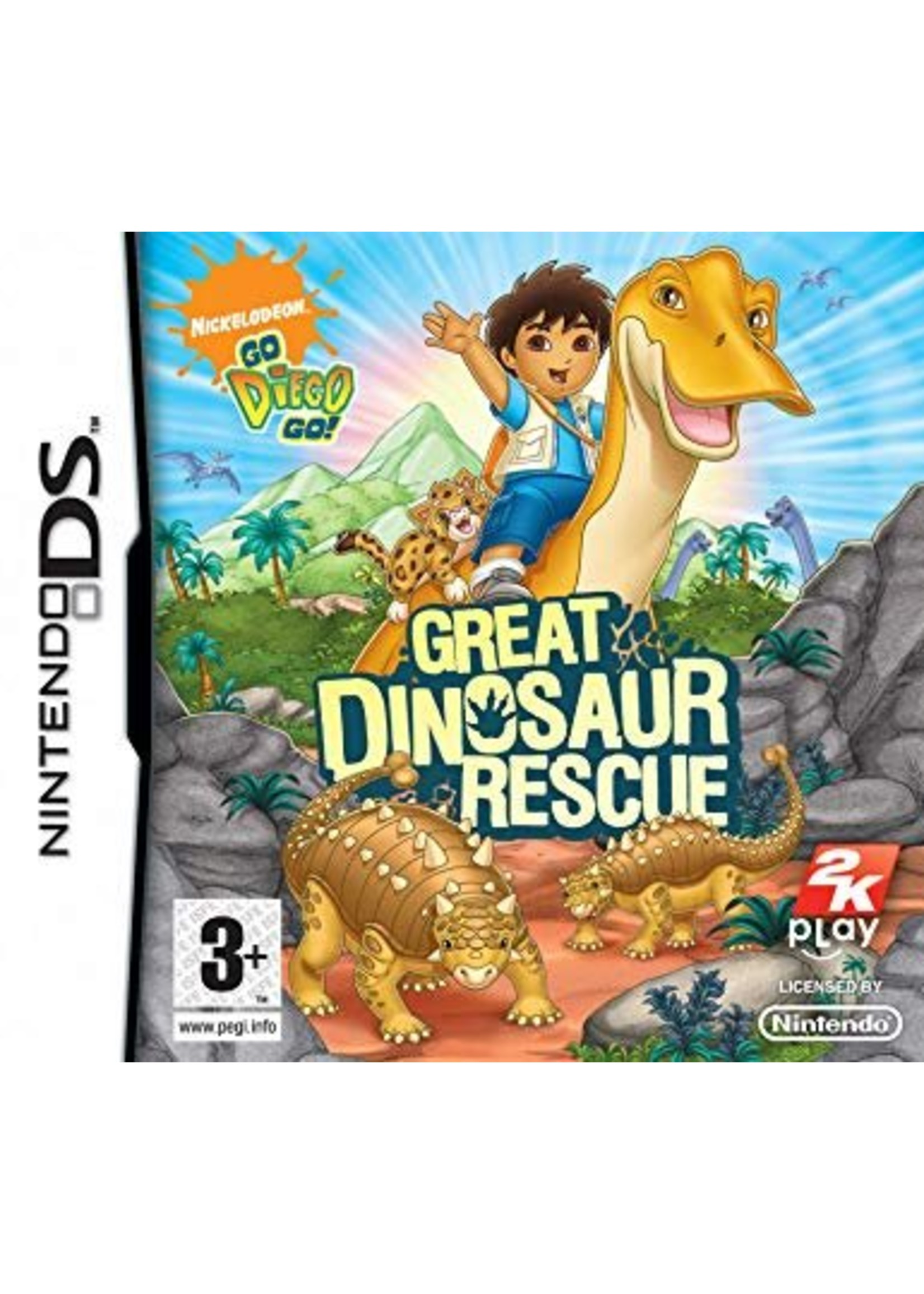 Diego Great Dinosaur Rescue - NDS PrePlayed