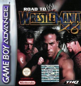 WWE Road to WrestleMania - GBA PrePlayed