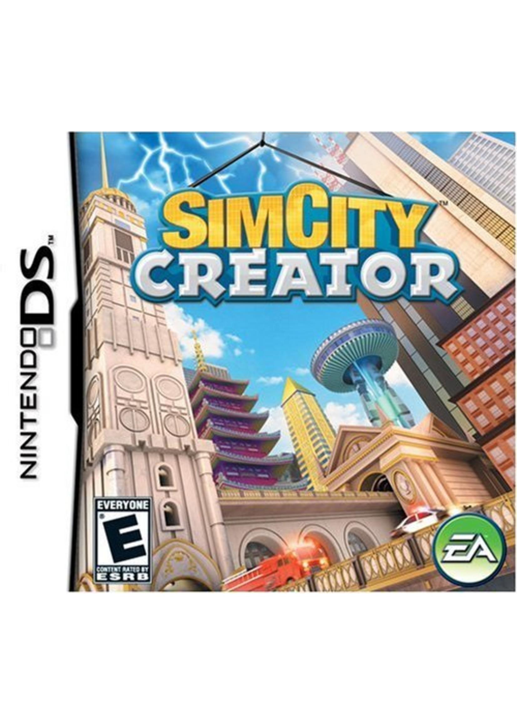 SimCity Creator - NDS PrePlayed