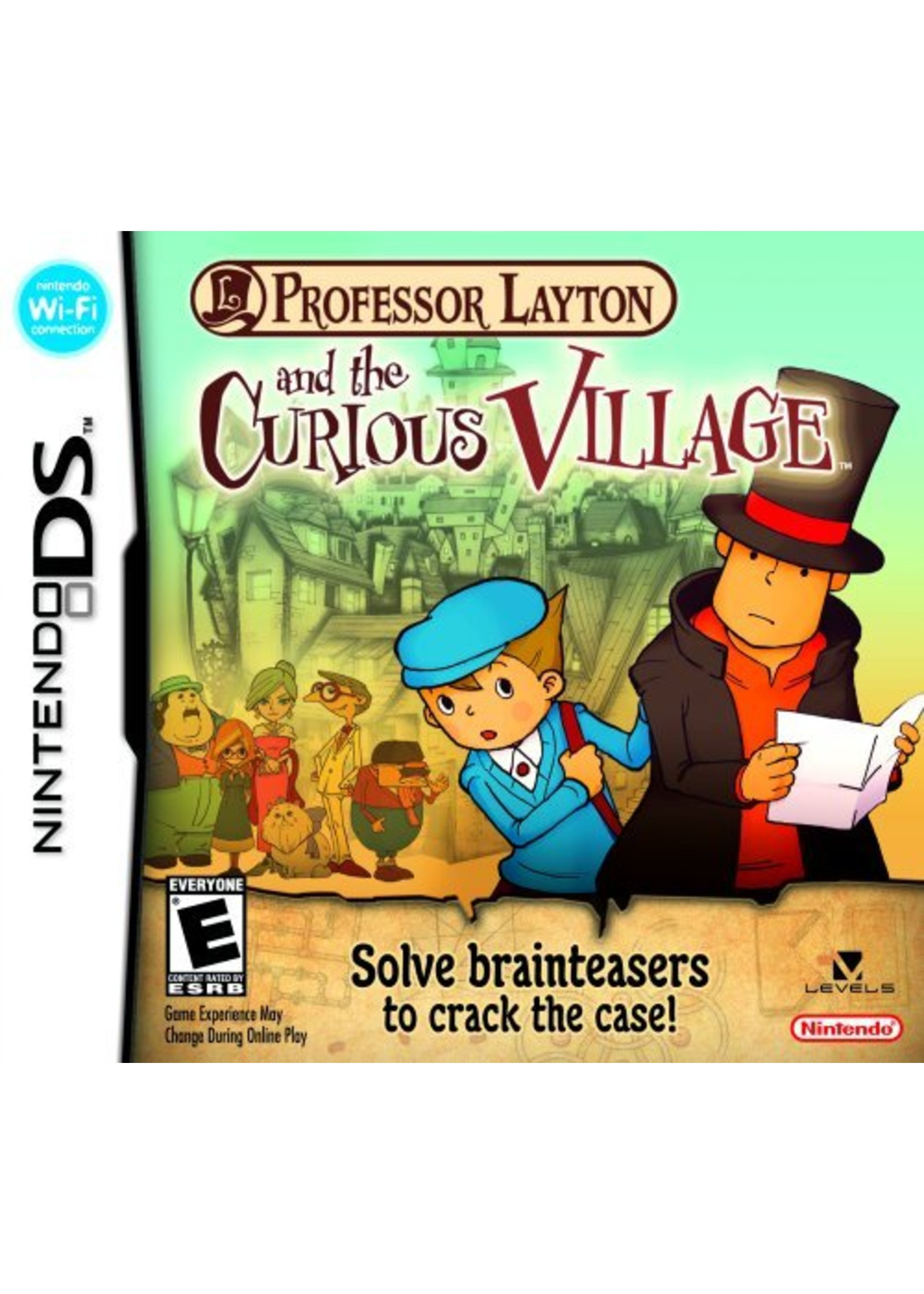Professor Layton and the Curious Village - NDS PrePlayed