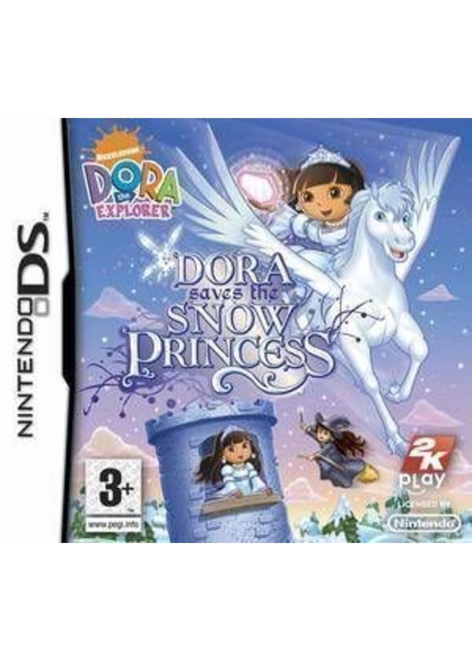 Dora Saves the Snow Princess - NDS PrePlayed