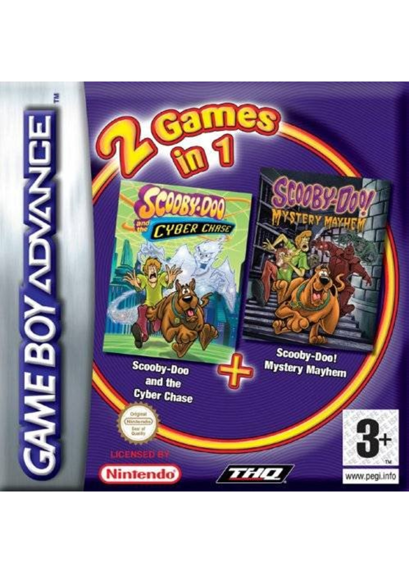 Scooby-Doo Double Pack - GBA PrePlayed