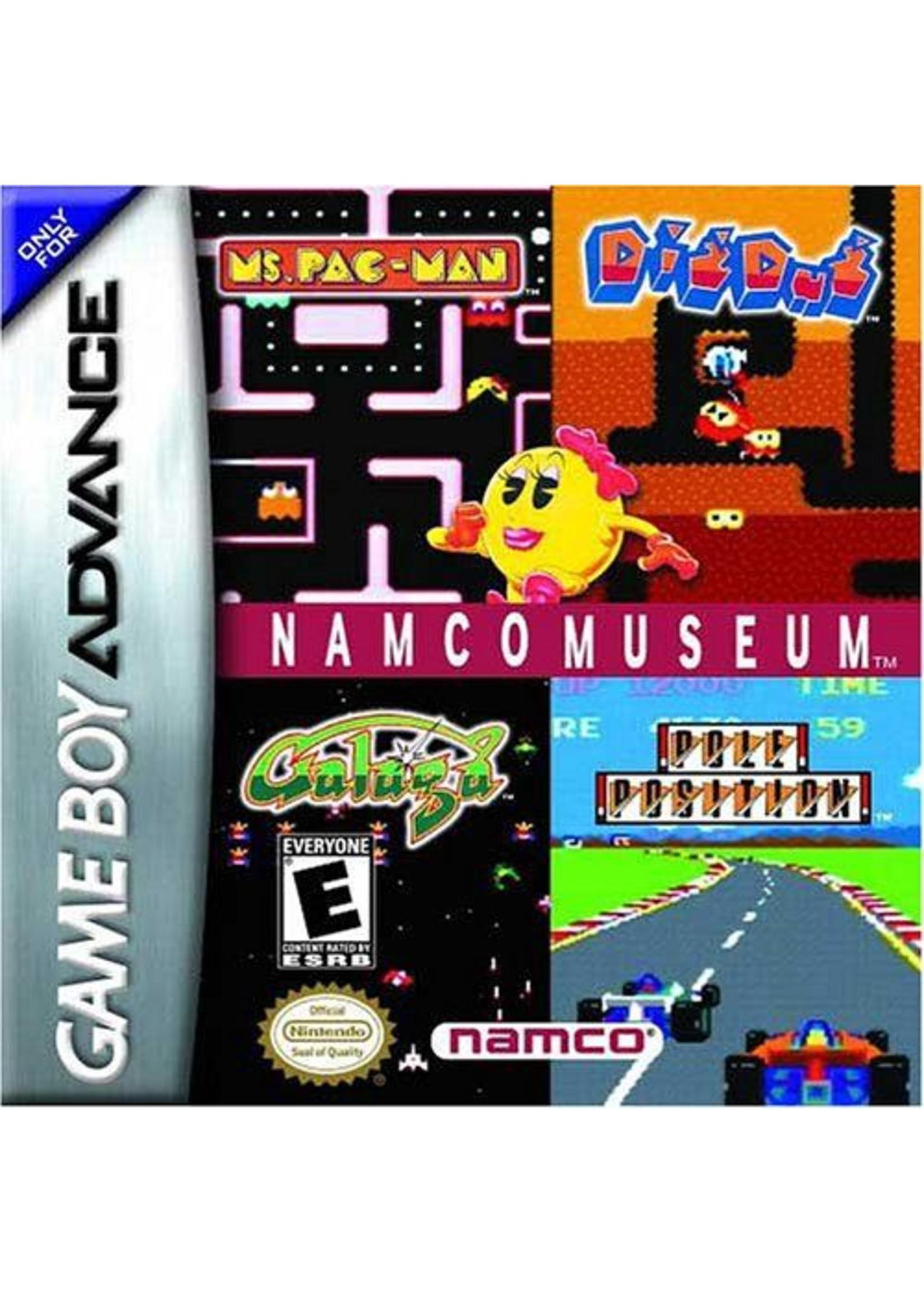 Namco Museum - GBA PrePlayed