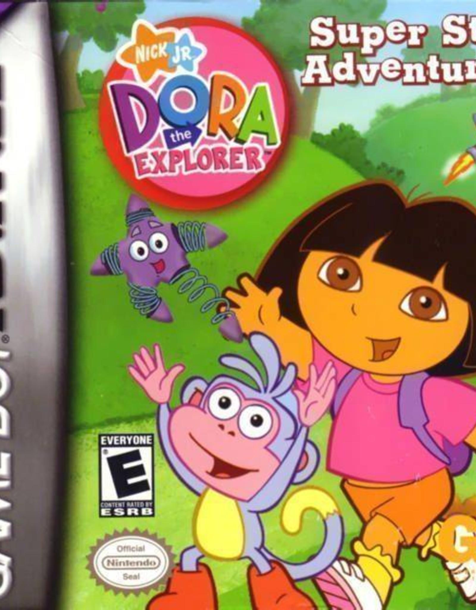 Dora Super Star Adventure - GBA PrePlayed