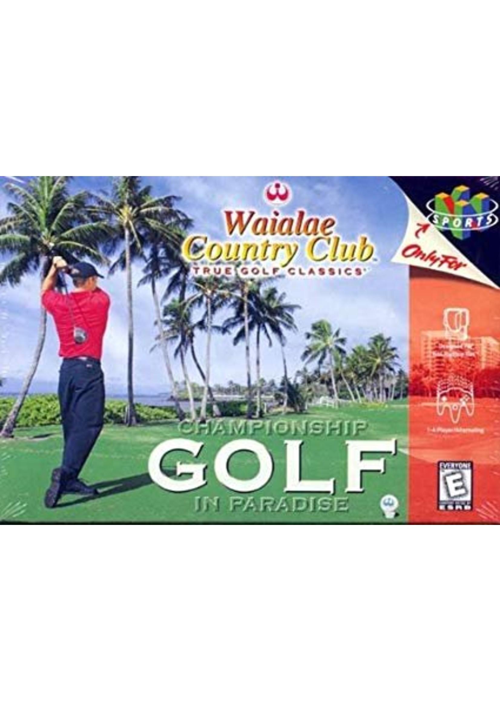 Waialae Country Club - N64 PrePlayed