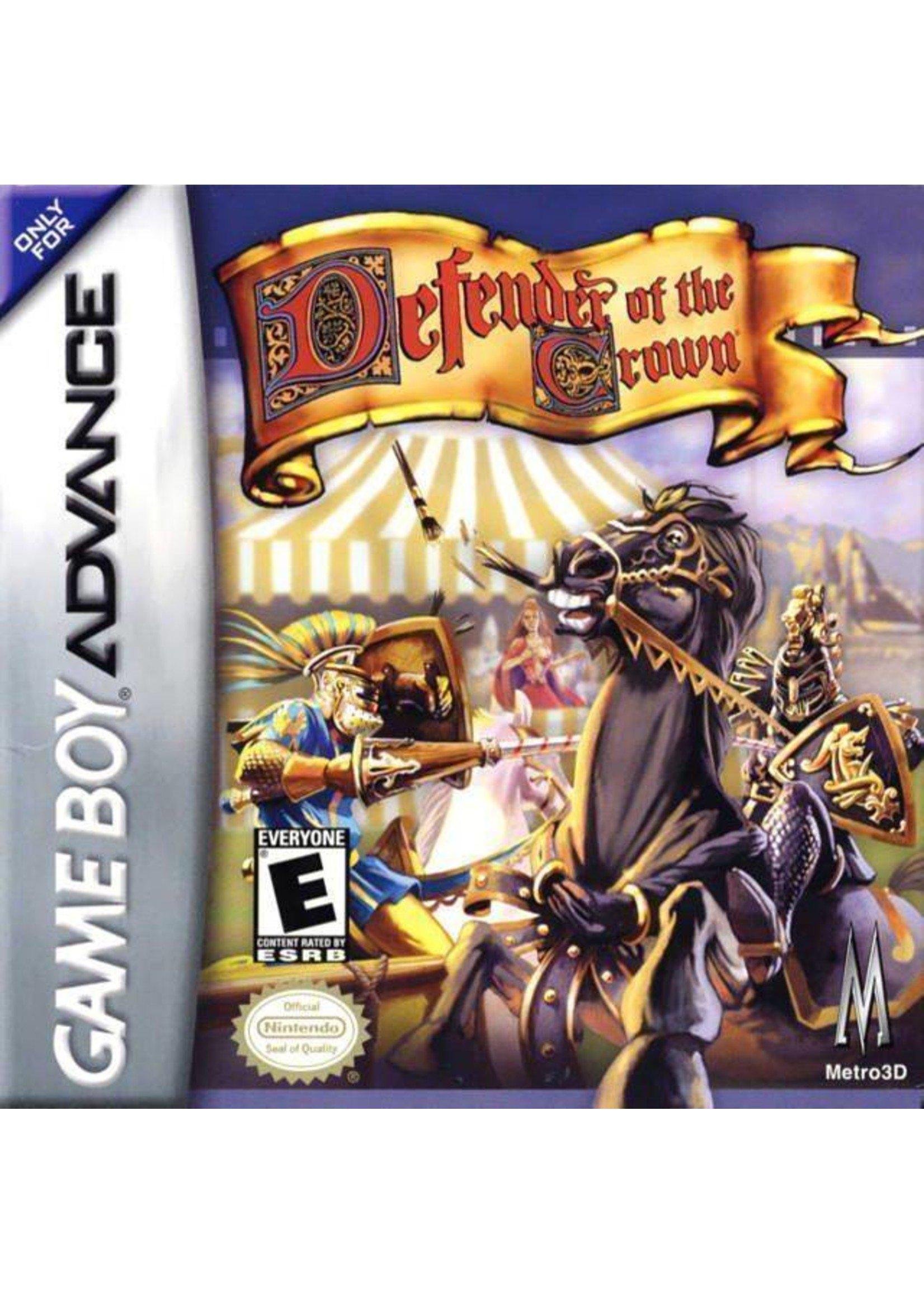 Defender Of The Crown - GBA PrePlayed